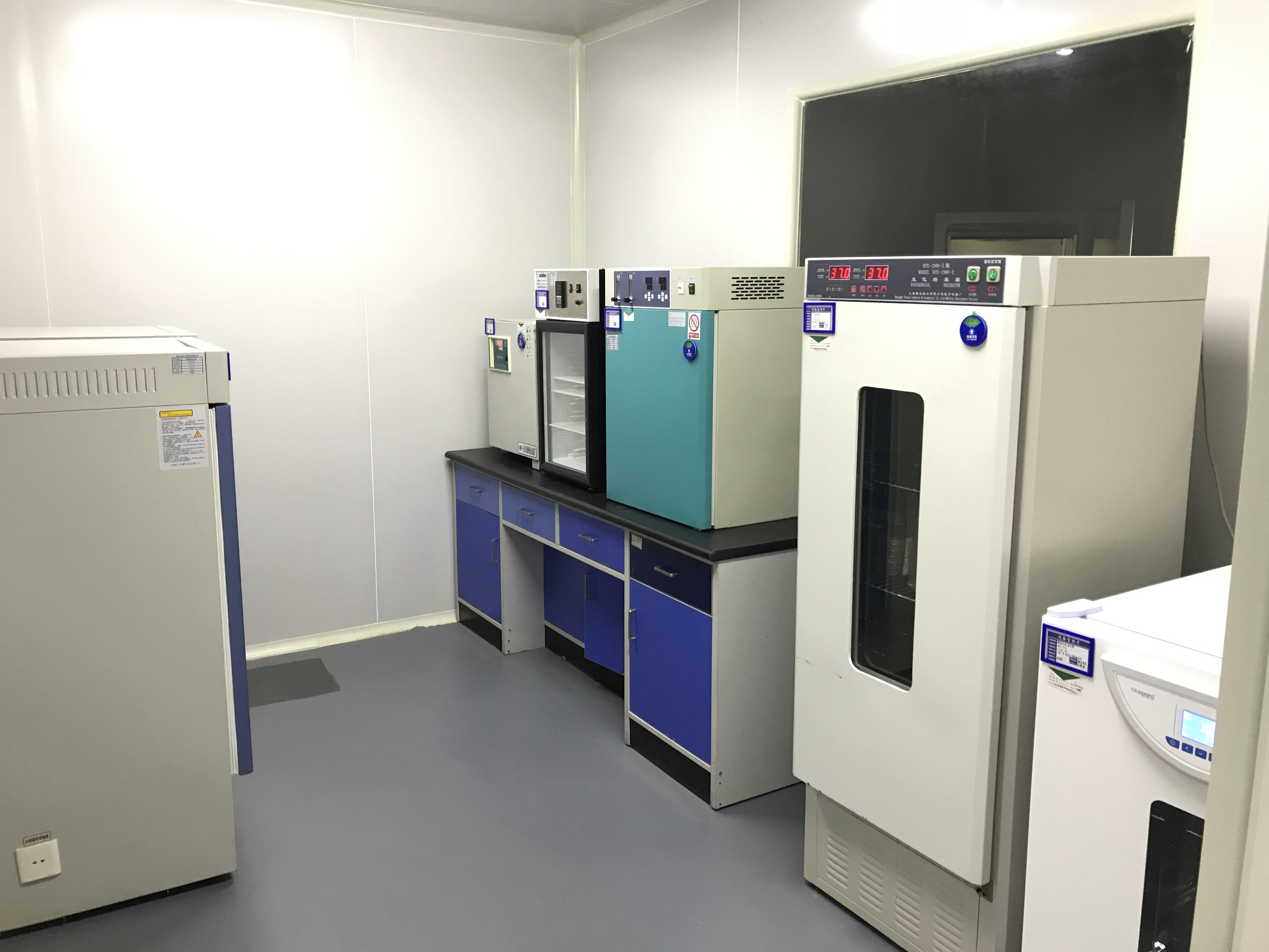 微生物分析室